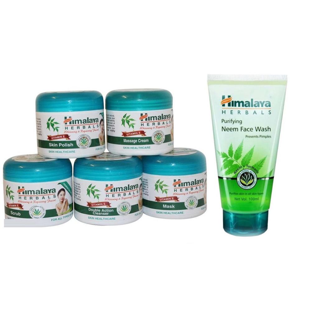 pack of Herbal Facial kit & Herbal Face Wash