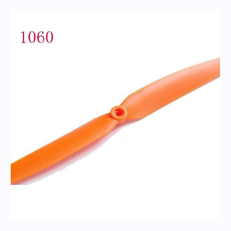 Gemfan 1060(10x6) Direct Drive Orange Propeller For Rc Plane