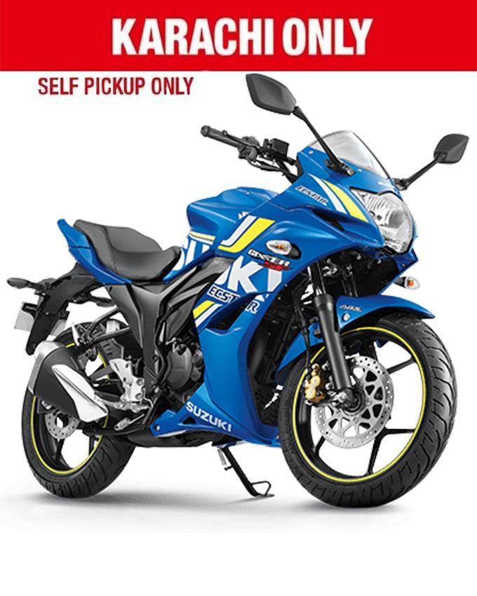 Suzuki Gixxer SF - 150cc Street Sports Bike - Blue (Karachi Only)