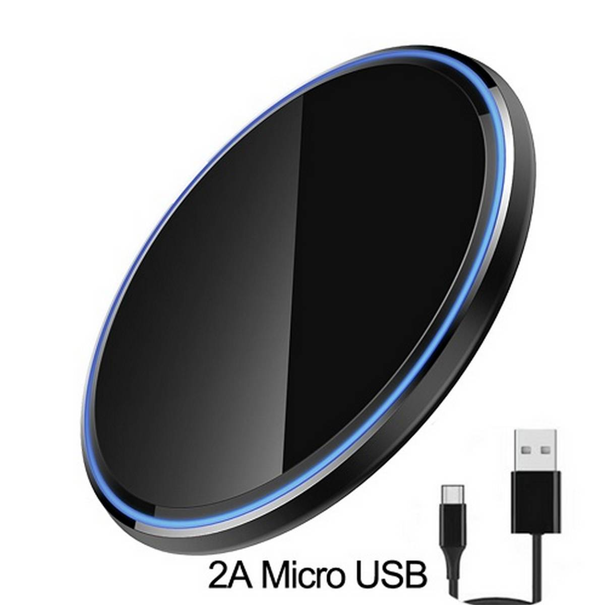 Fast Qi Wireless Charger Pad 20W for iPhone 11 8 X XS Samsung S20 S10 S9 Note 8 9 10 Wireless Charging Quick Charge Adapter