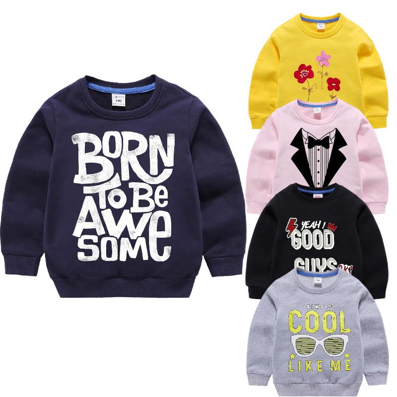 Pack Of 2 Multicolors Printed Fleece Sweatshirt For Kids
