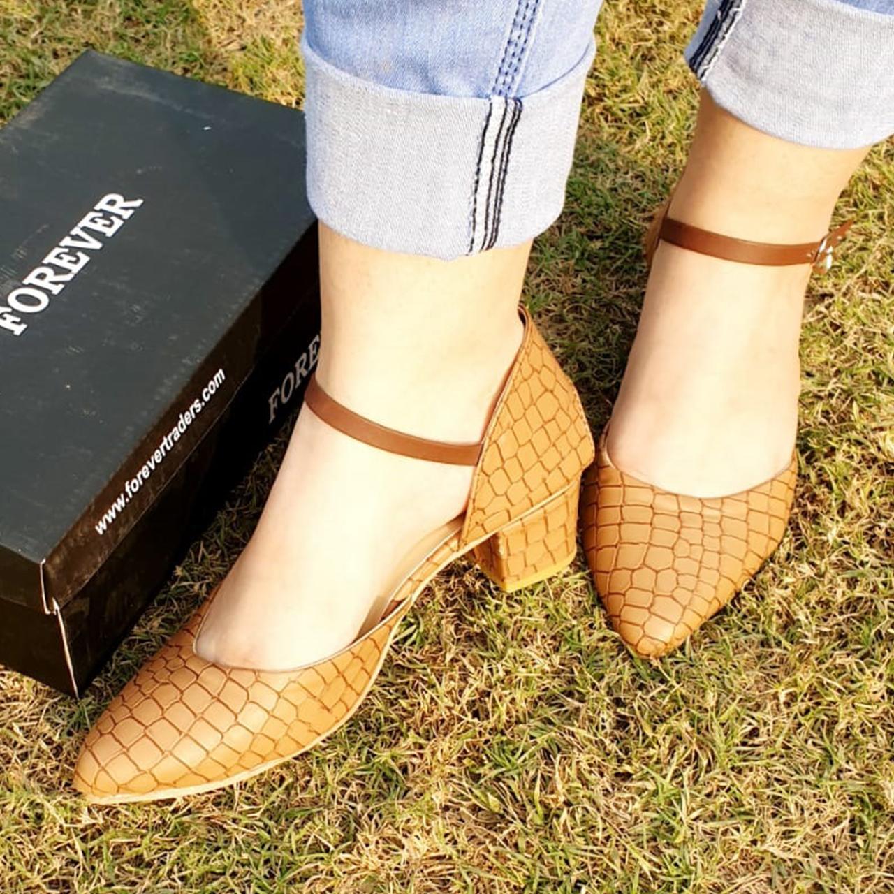 Almond Toe Heeled Sandals for Women FR8-66