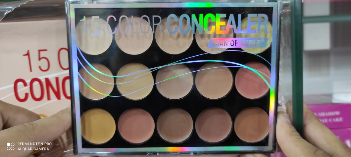 15 in 1 - Ultimate Contour Kit For Women - Multicolour