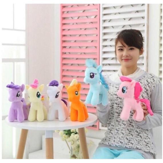 My Little Pony Toys Friendship is Magic Princess Cadence Celestria Rainbow Dash Pinkie Pie Pony Plush Soft Stuffed Dolls