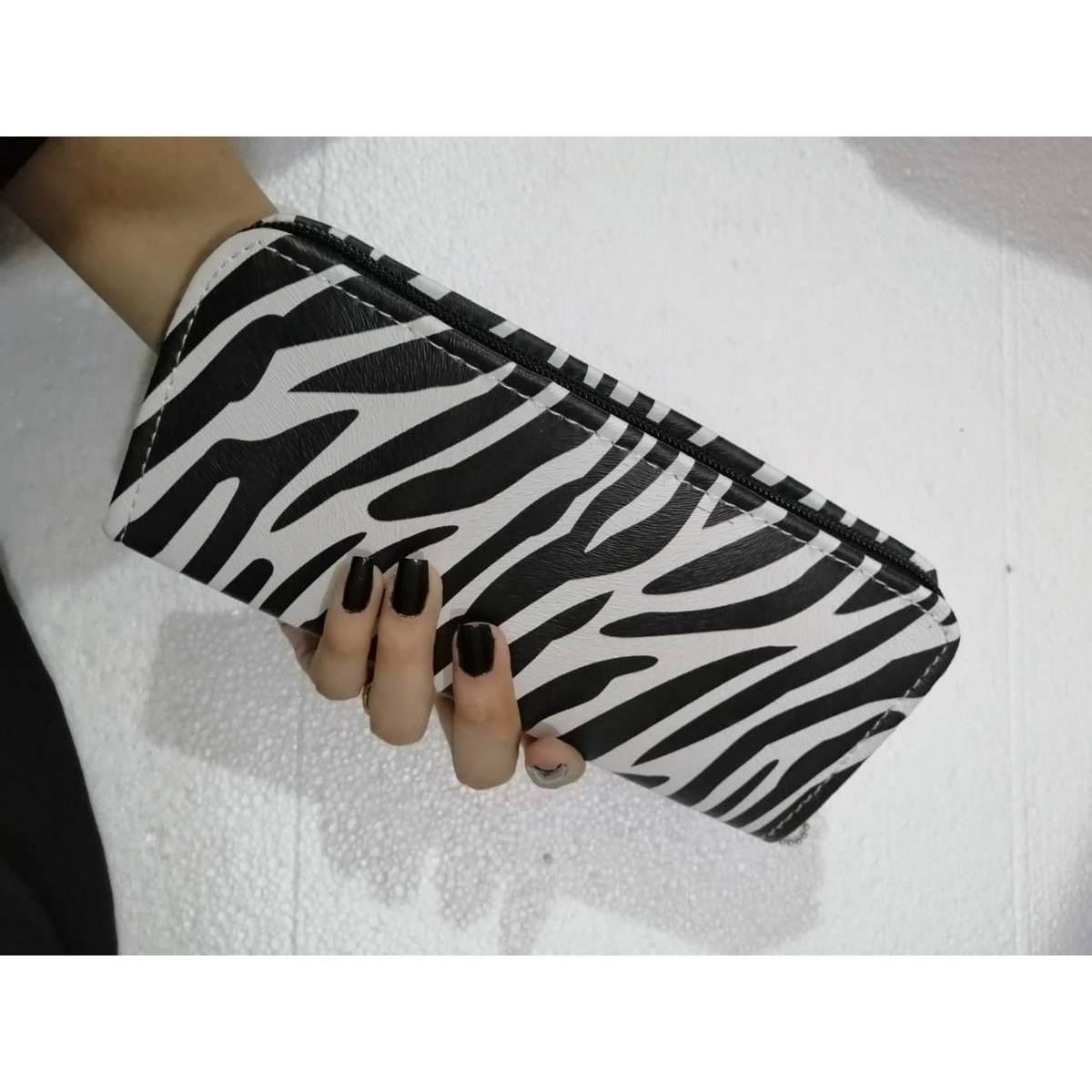 Stylish Clutch for Girls and casual wallet for women, zebra and panda stripes style, PU Faux Leather For Girls & Women