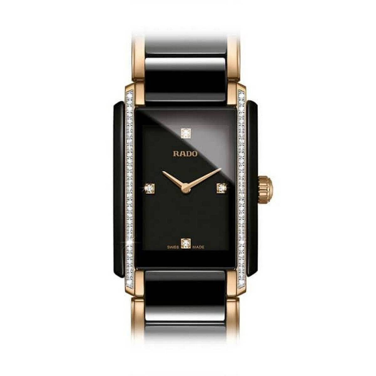 Rado Integral Black Dial Ladies Watch 153.0228.3071