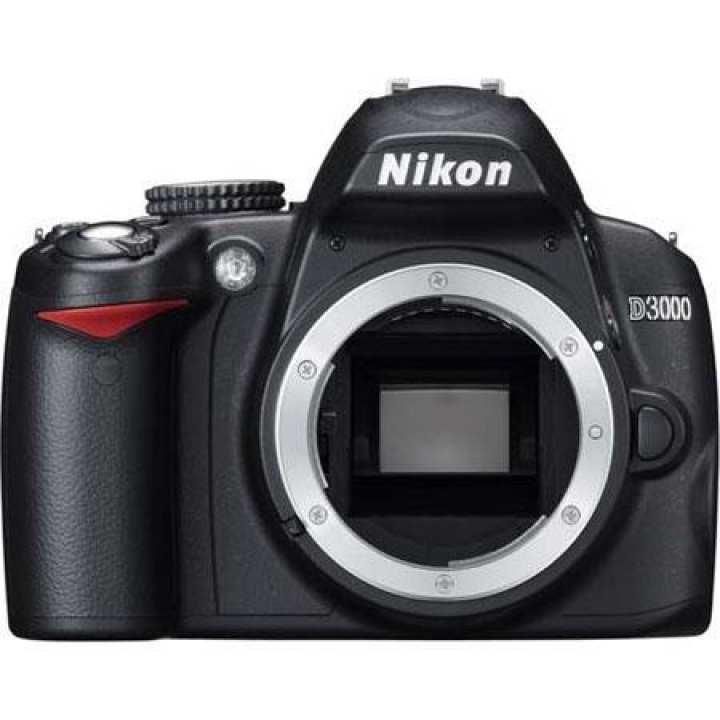 Nikon D3000 Dslr Body -Black