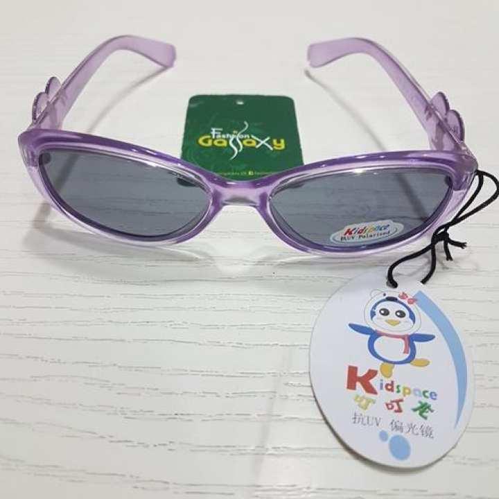 Girls Sun Glasses In Light Purple Color