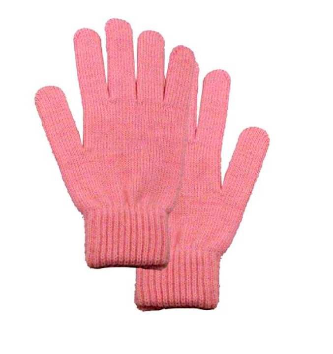 HI Charlie Wool Gloves for Women - Pink
