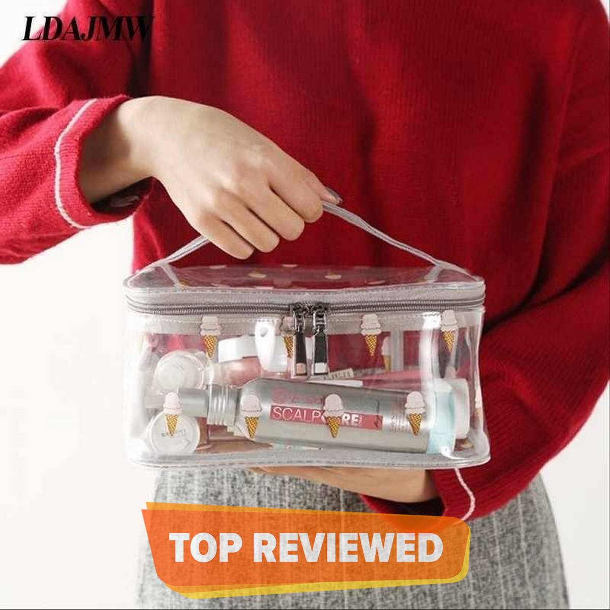 New Cosmetic Portable Makeup Pouch Waterproof Travel Hanging Organizer Bag