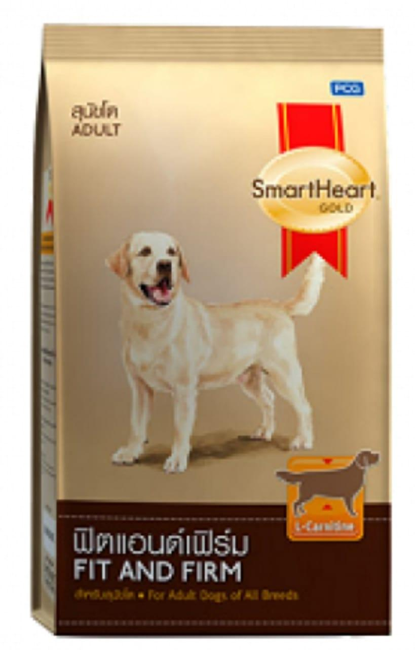 SMART HEART GOLD - Fit & Firm - All Breeds of Adult Dogs- DOG DRY FOOD - 20  KG