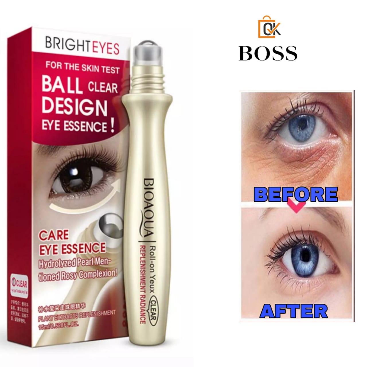 Best Quality BioAqua Anti-Wrinkle Puffiness Eye Bag Removal Roll-On Eye Ball For Dark Circle Skin Care 15ml