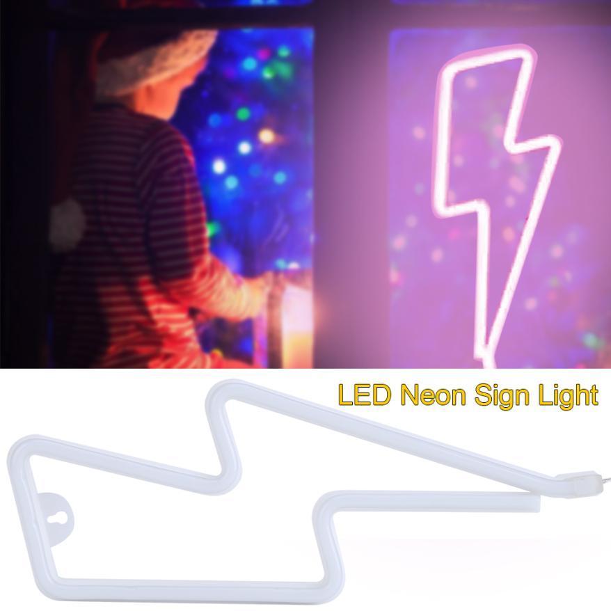TMISHION USB Powered LED Neon Sign Light Shop/Wedding Decor Lamp (Pink)