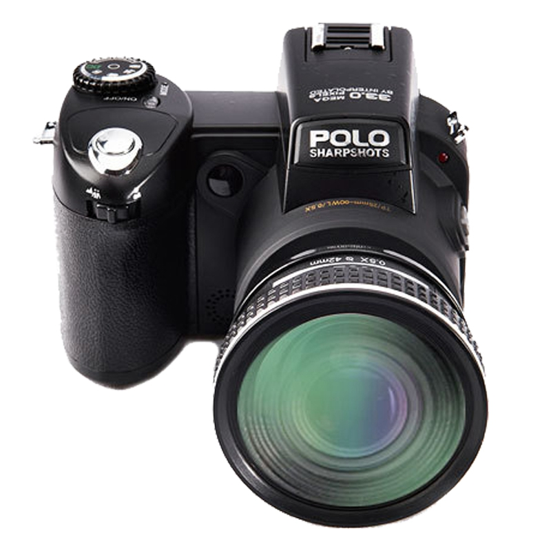 POLOSHARPSHOTS D7200 Digital Camera Autofocus 1080P Full HD Digital Video Camera 33MP Anti-Shake(EU Plug)