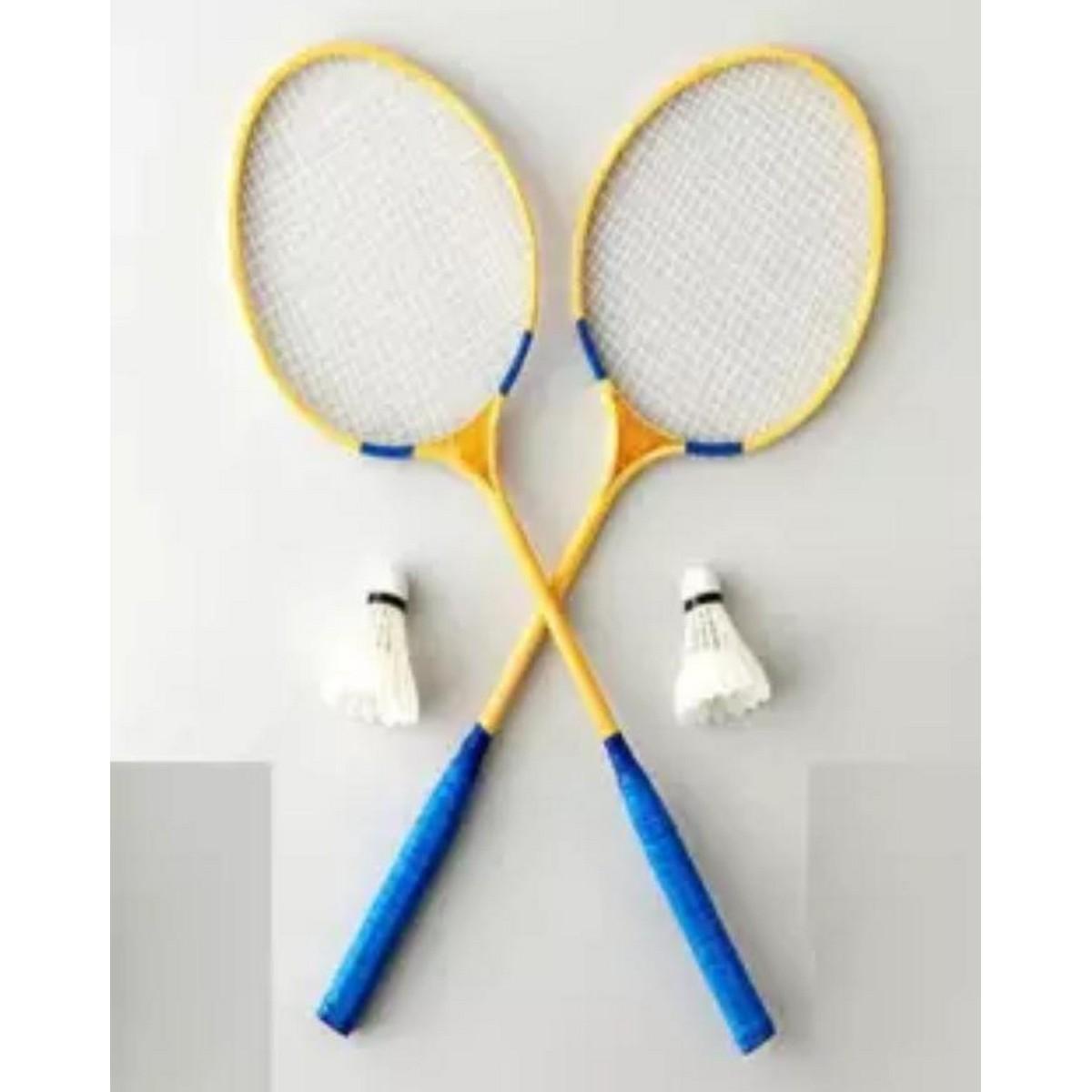 Brandworx Pack of 2 Badminton wooden Racket