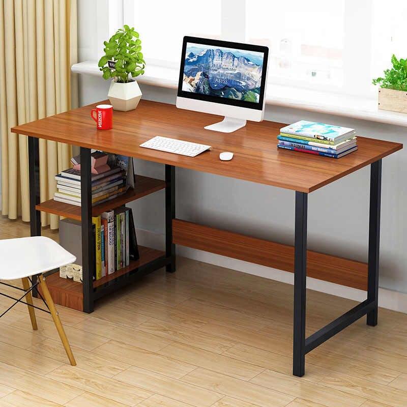 Home Office Desk 48 inch - Modern Desktop Computer Desk Gaming PC Laptop Desk Work Table, Home Bedroom Furniture Workstation Students Study Writing Desk