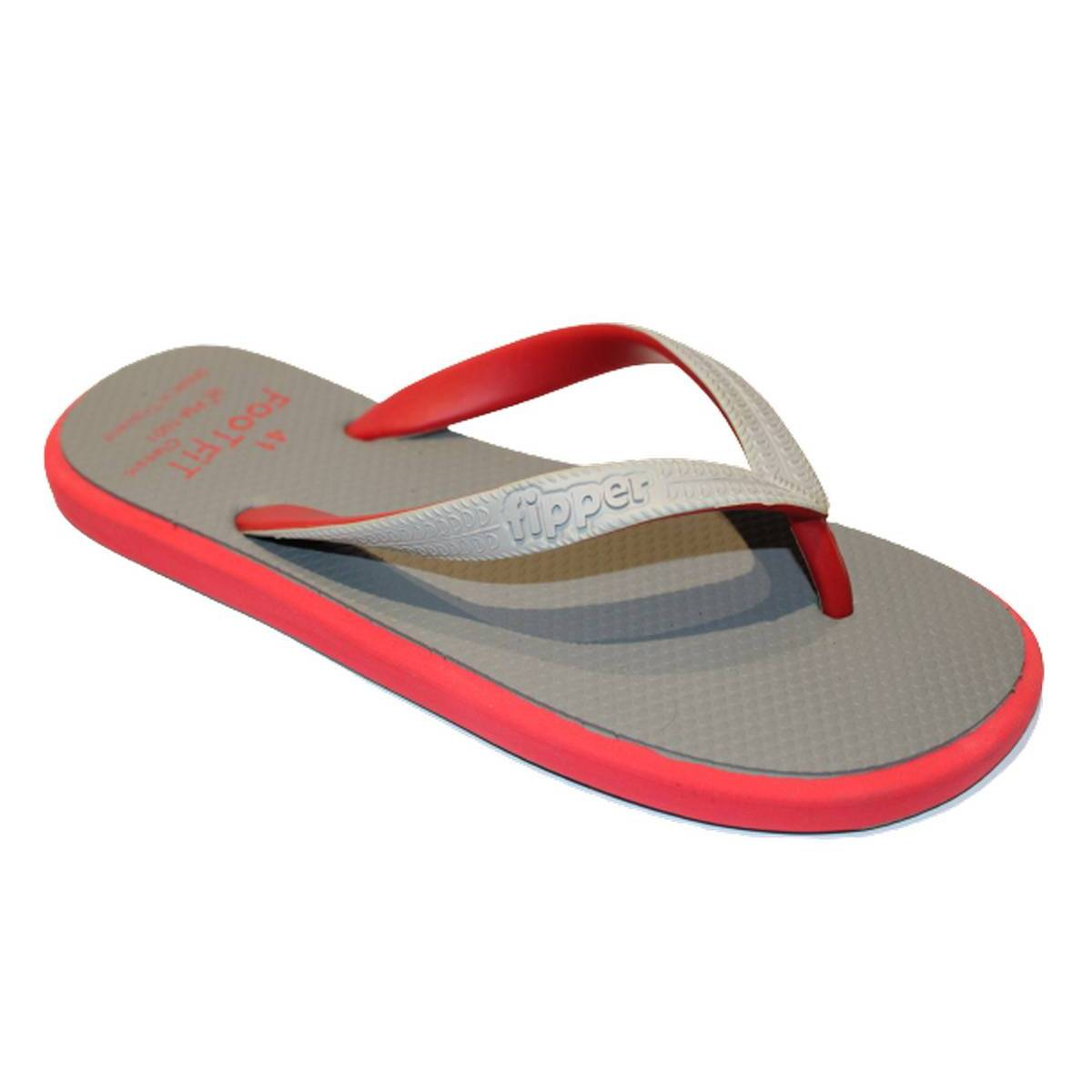 FootFit Classic New Arrival Men's Double Padded Flip Flop Slippers FM-1001