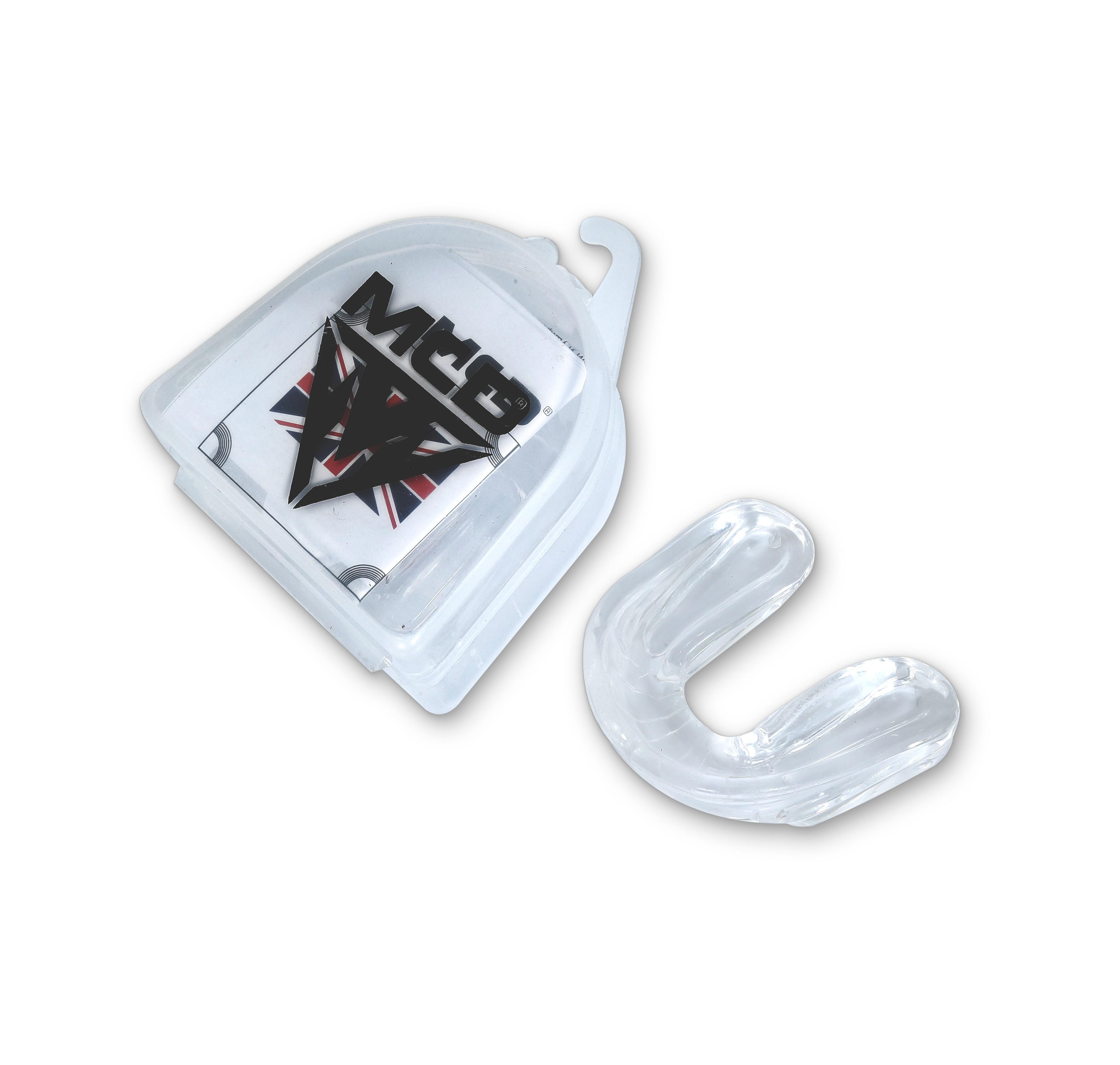 MCD Mouth Guard Gum Protector Teeth Guard boxing, kickboxing, wrestling, BJJ, karate, Muay Thai, taekwondo, judo.