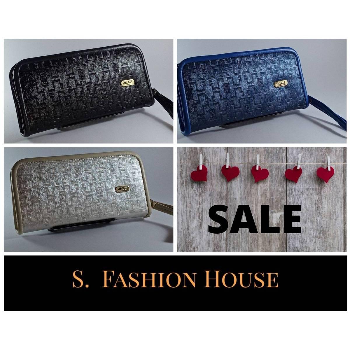 C:321 Trendy Clutch Pouch Handbag for Girls and Women