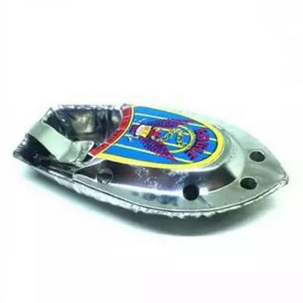 Candle Powered Steam Boat Tin Toy Vintage Style Floating POP-POP Boat Toy Gift