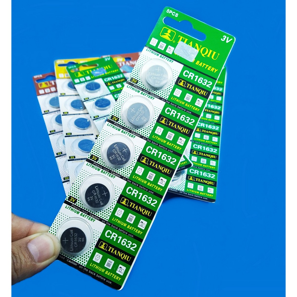 Dreams 5pcs HQ CR1616/CR1620/CR1632 3V Lithium Battery Cell Watch Remote Toys Coin Button 1616 1620 1632Cell DIY Projects