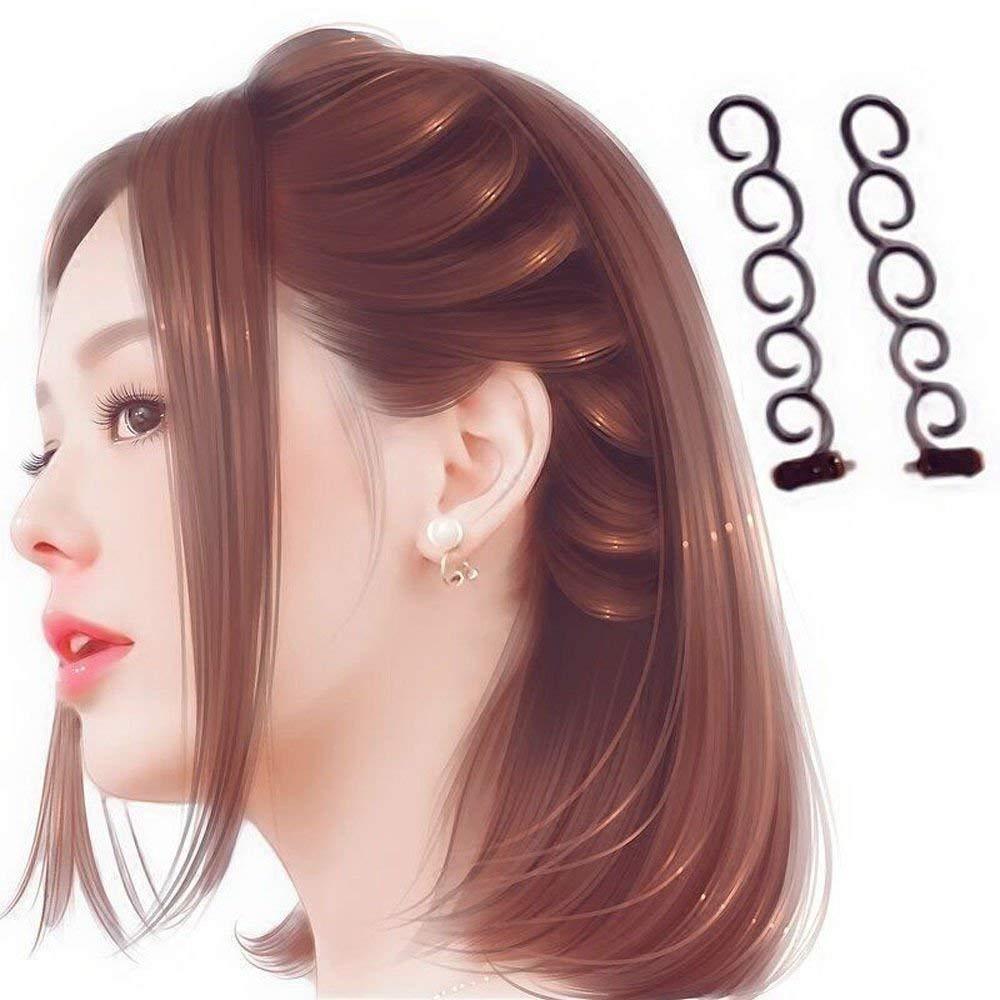 2pcs Hair Styling Tools Weave Braid Hair Braider Tool Hair Styling Tool