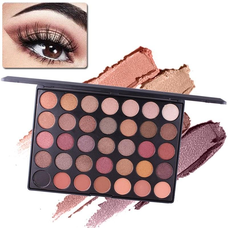 1 Colors Matte Shimmer Earth Warm Color Eyeshadow Palette Makeup Eye Shadow Multicolor Glitter Eye Shadow Palette We Take Customers As Our Gods Beauty & Health Beauty Essentials
