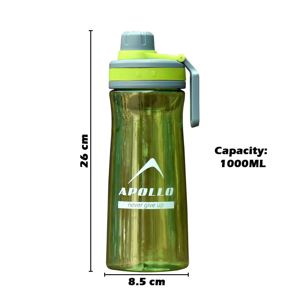 SPORTS WATER BOTTLE PLASTIC APOLLO GYM WORKOUT BOTTLE  ASWB-10