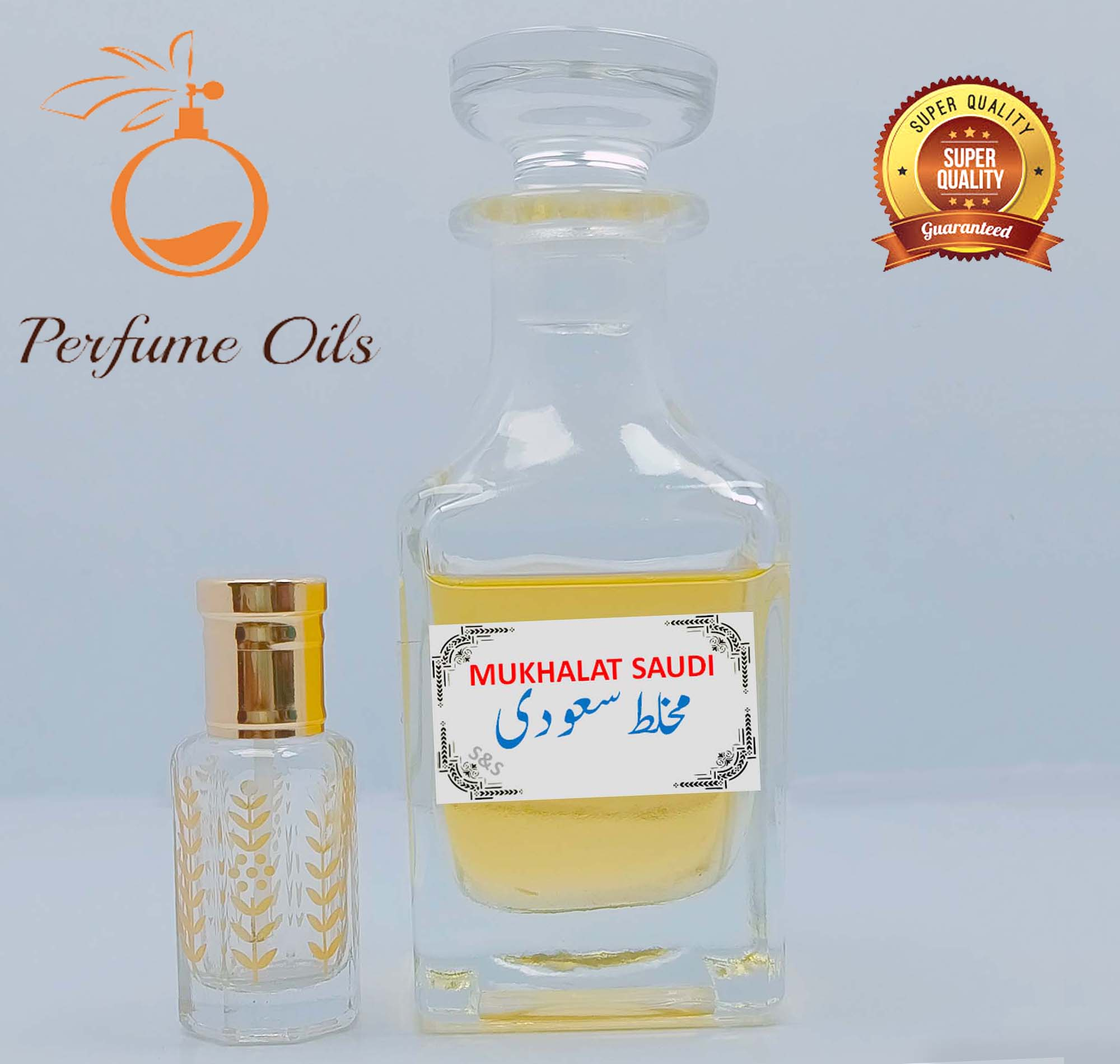 MUKHALAT SAUDI (S&S) Special Perfume Oil  Attar / Ittar   Best Projection   Long Lasting High Quality Original Fragrance by Perfume Oils Store