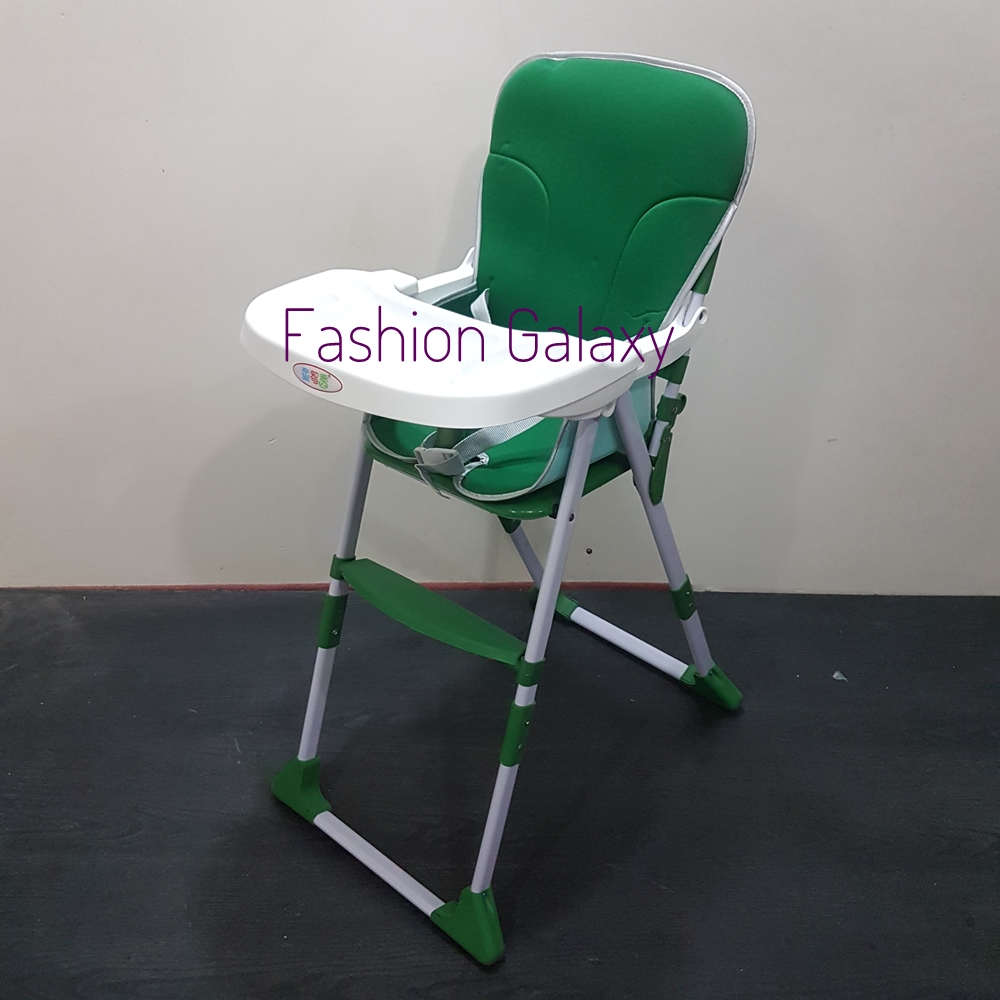Folding & Adjustable High Chair For Kids