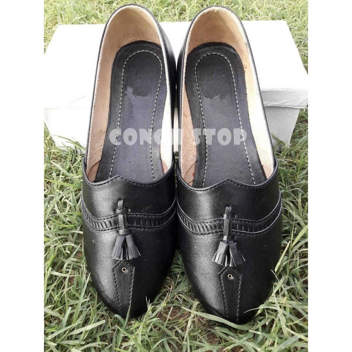 Trendy Khussa Style Shoes for Men   Best Stylish Black Khussa for Men