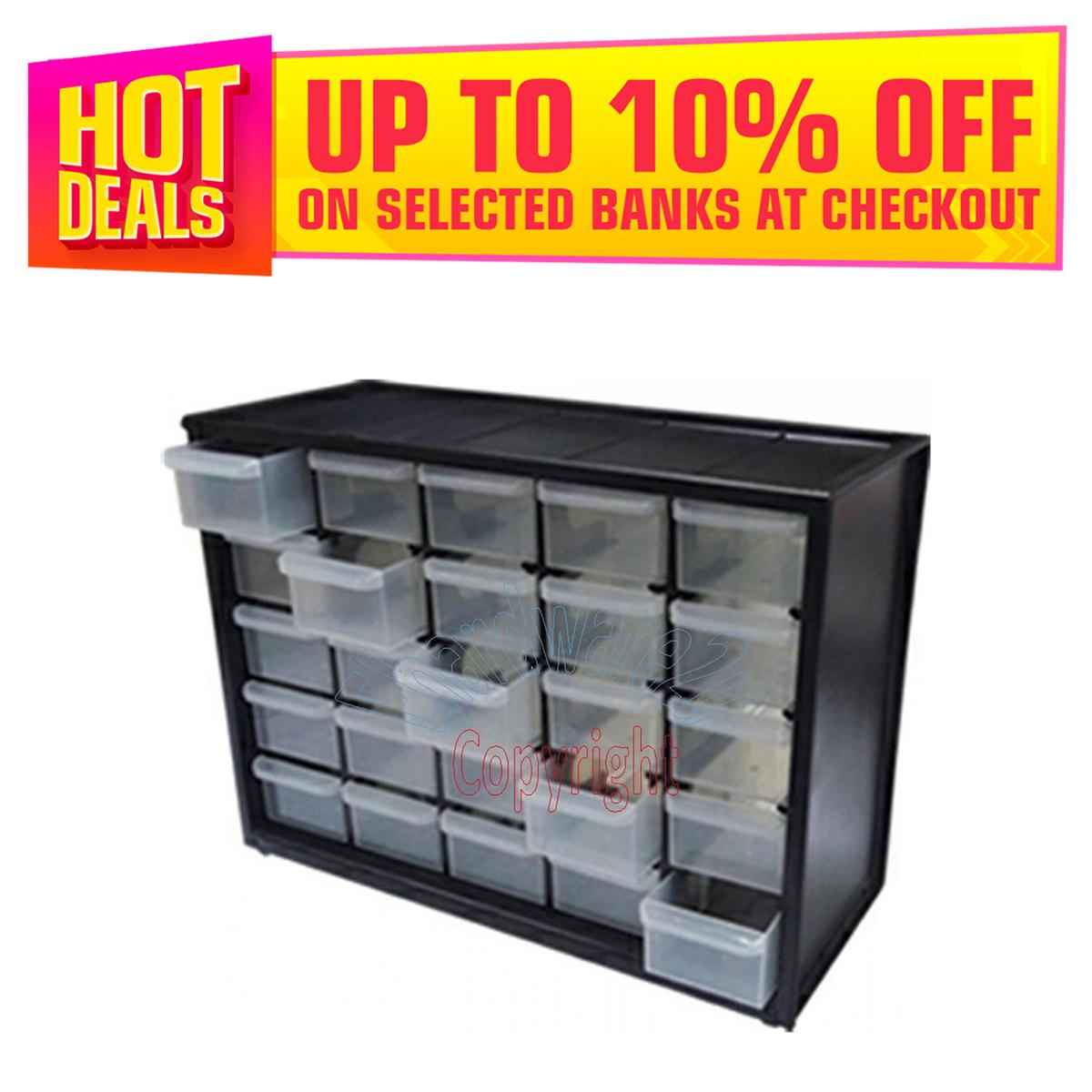 Cabinet 25 Plastic Drawer Box