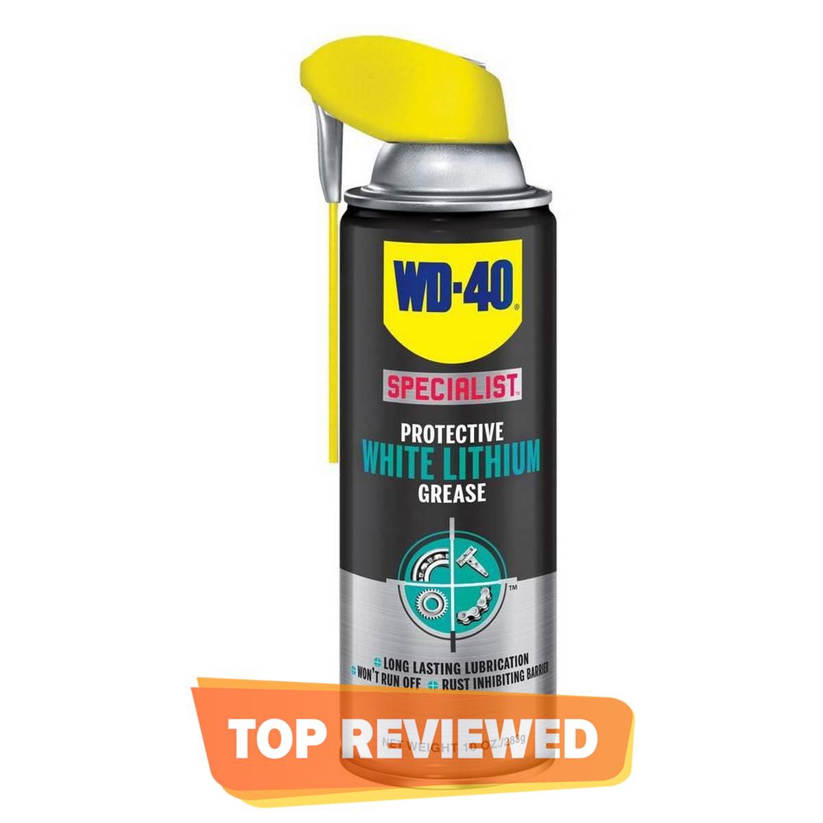 WD-40 White Lithium Grease 400 ML Smart Straw