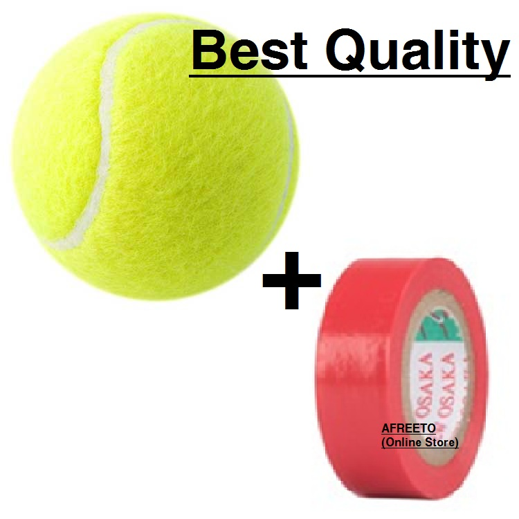 Cricket Soft Ball With ball Tape tennis ball with red tape