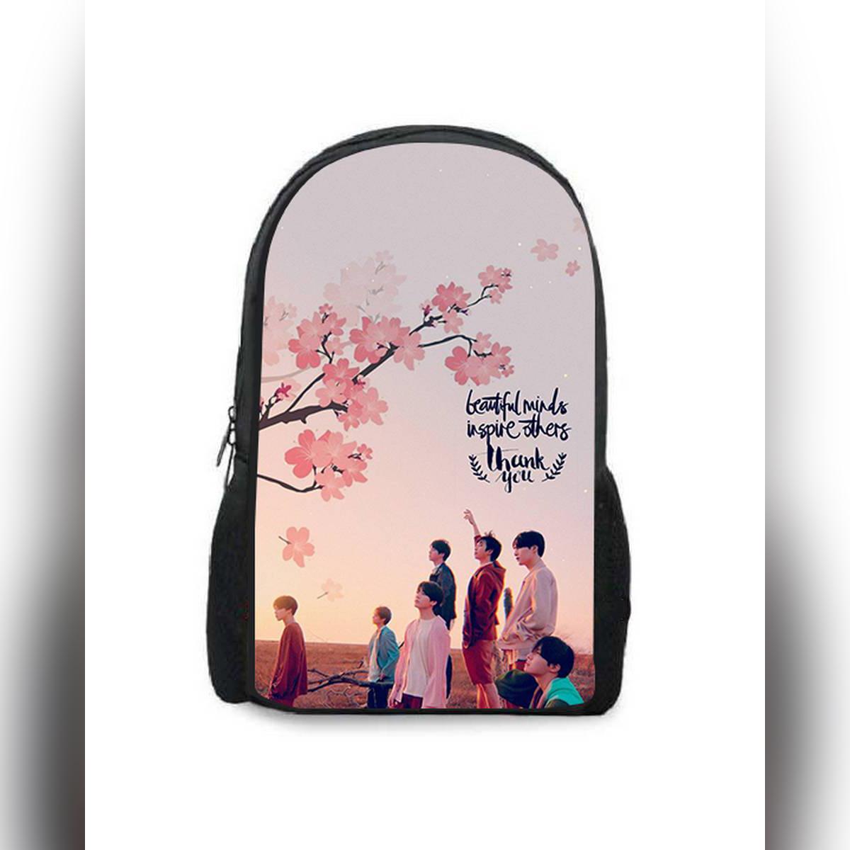 BTS Printed Backpacks
