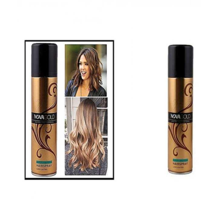 Nova Gold Hair Spray - Super Firm Hold 200ml