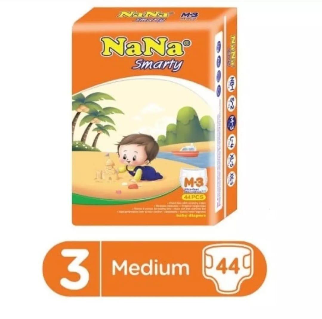 Nana Smarty Diapers Economy medium 3 number 44 piece