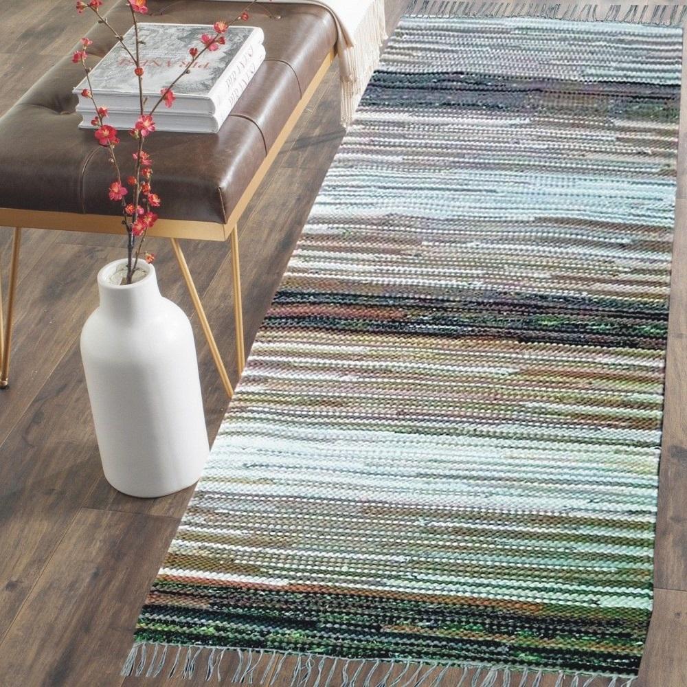 Doree Boree - 4'x6' Feet - THICK & ABSORBENT Cotton Hand Made Area Rug  (122x183 cm)