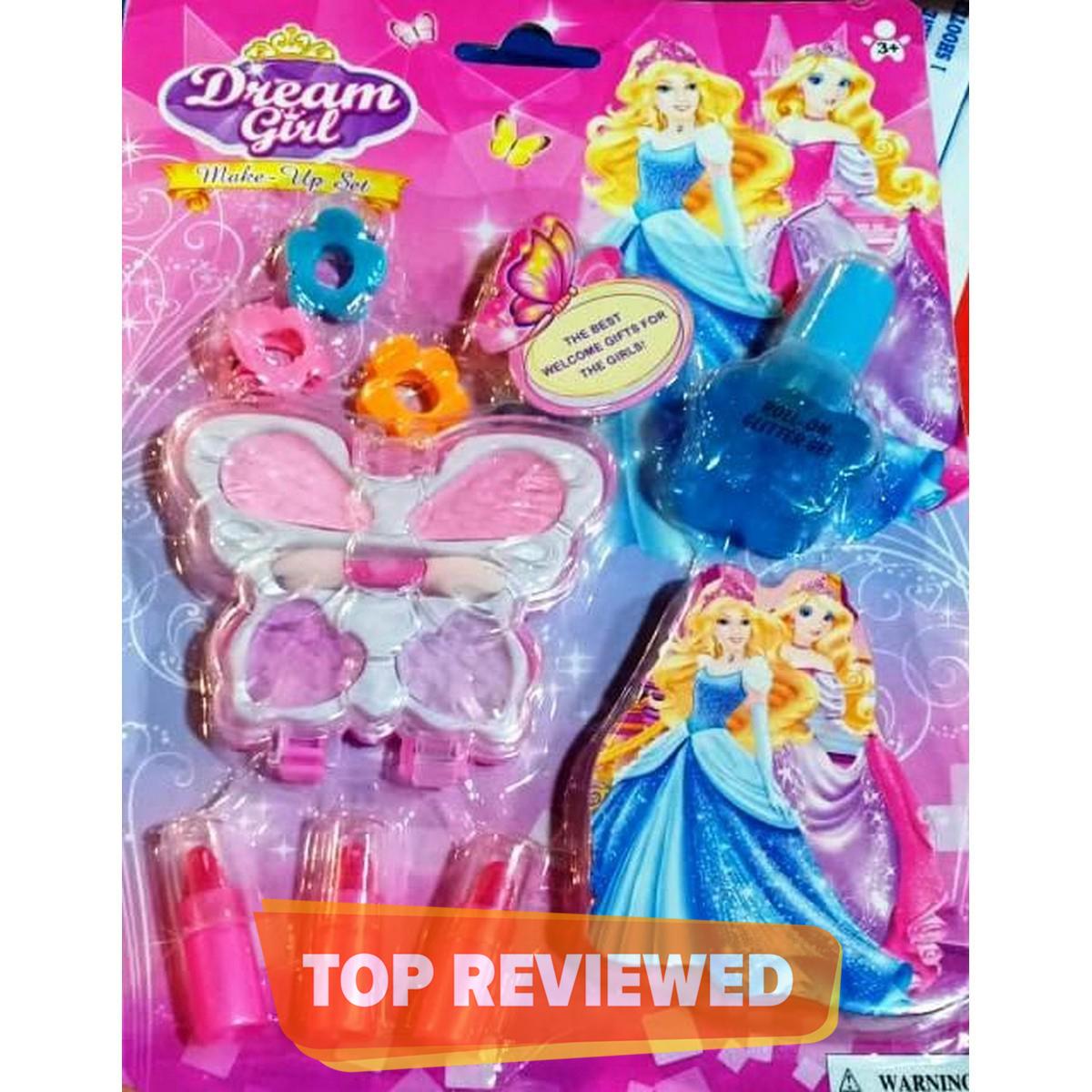 Dream Girl Makeup Decoration Set - 8 Pcs Pack, doll accessories diy