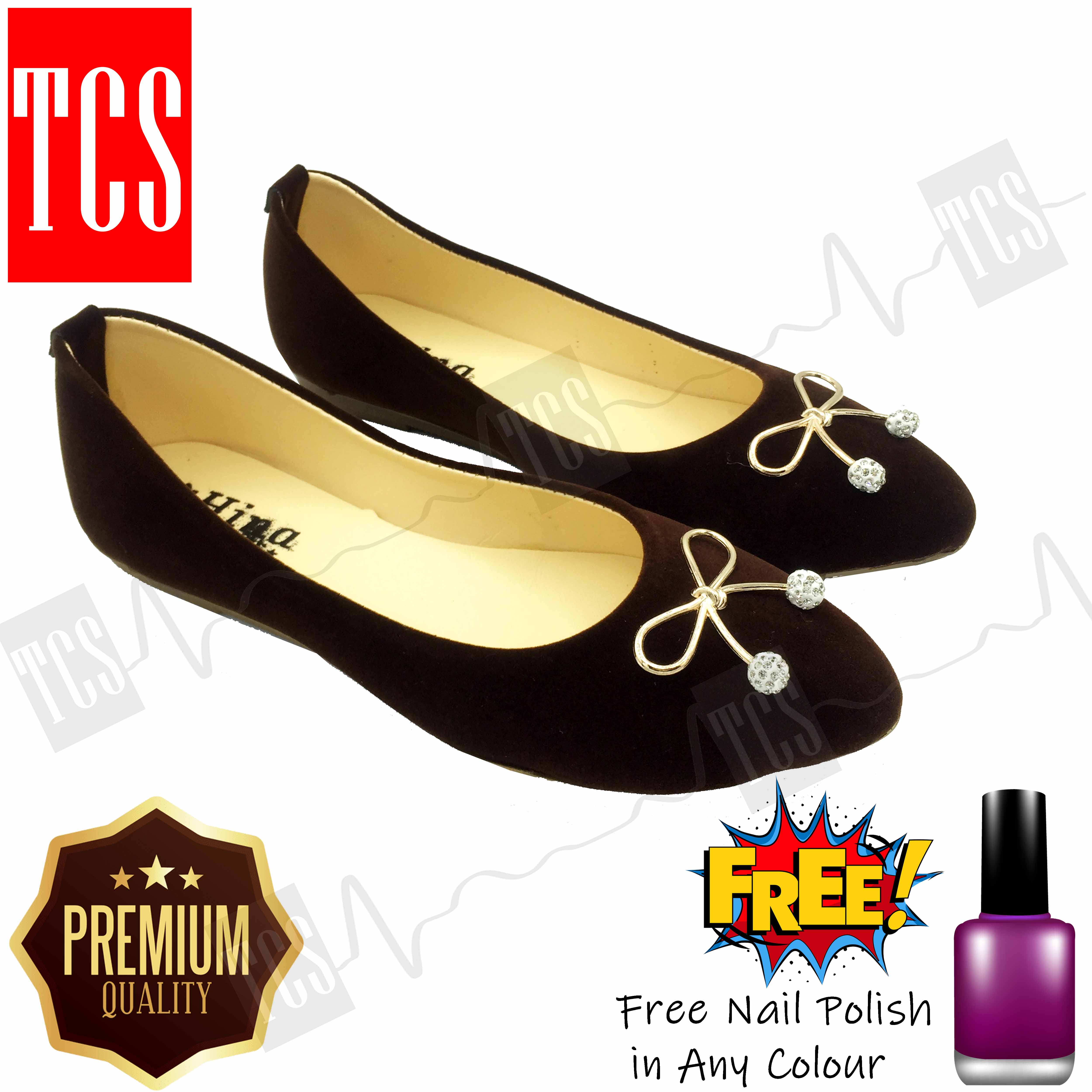Football Buckle Pumpi Highly Comfortable in Brown Colour Premium Quality