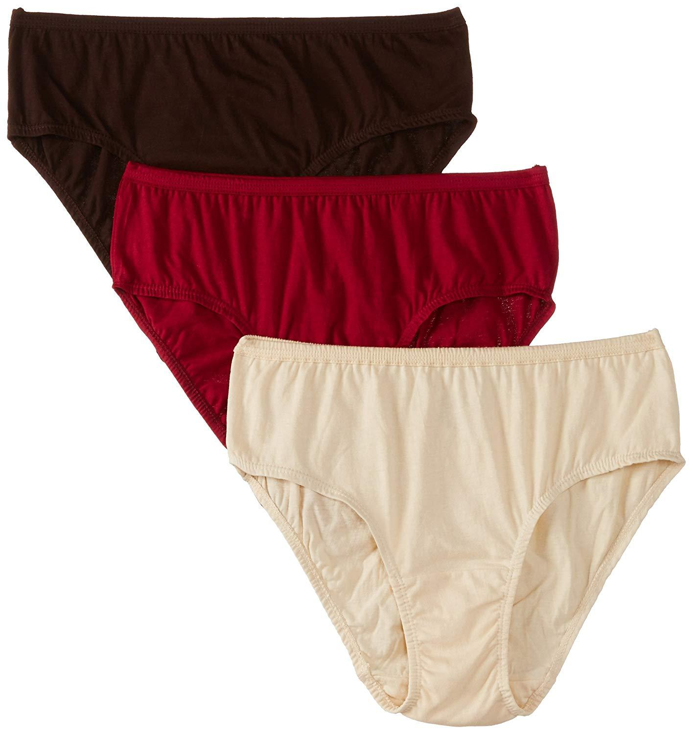 b771983c98 Pack of 3 Cotton Underwear For Women - Multicolor