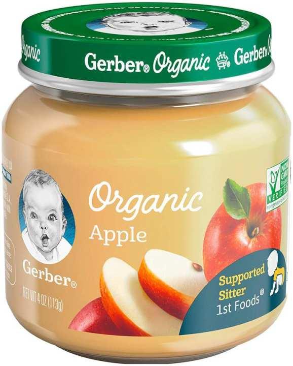 Gerber Baby Pudding Organic Apple 113g