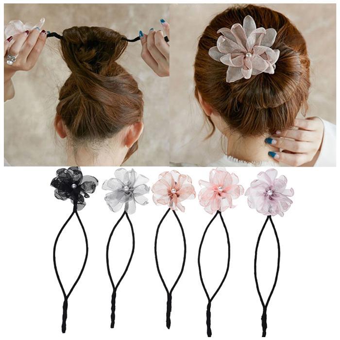 Charitable Hot Women Printing Bowknot Hair Band Girls Retro Elastic Headband Heart Flower Wrap Scrunchy Bandana Hair Styling Accessories Products Hot Sale Women's Hair Accessories