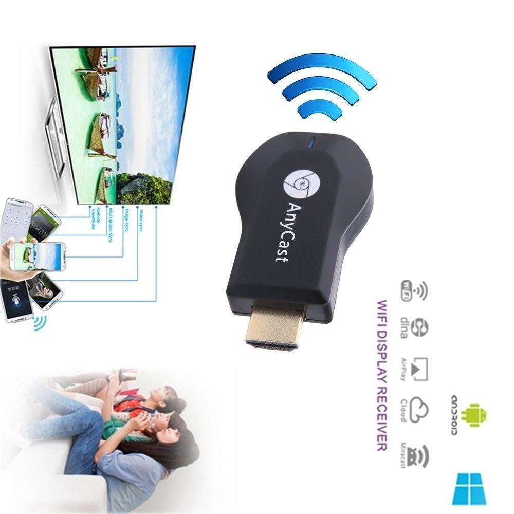 Anycast Smart Media Player TV Stick Google Chromecast Dongle Chrome Cast