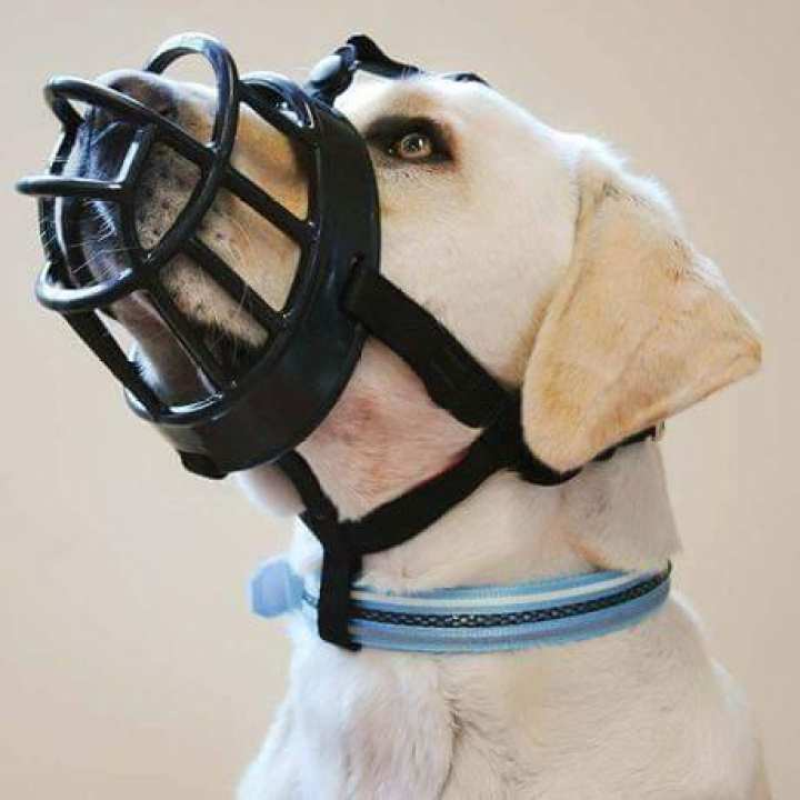 Baskerville - Dog Muzzle  Adjustable and Comfortable Secure Fit - Small