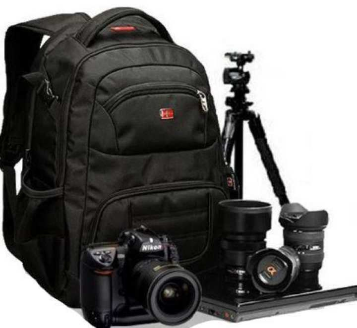 DSLR Camera Water Proof Bag - Black,Luggage Bag