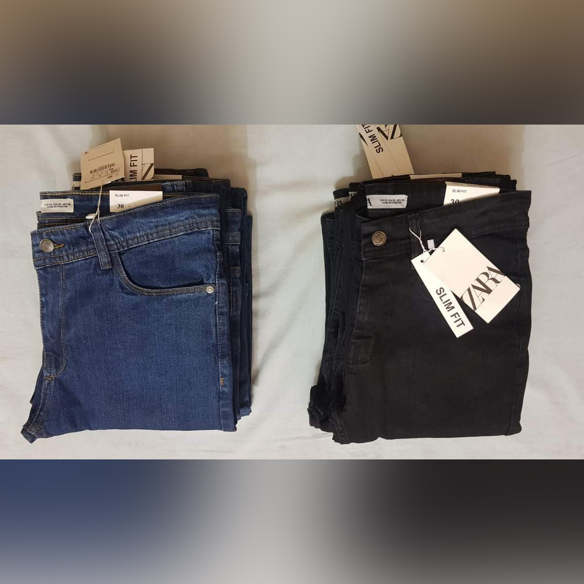 Pack of 2 denim jeans by AW