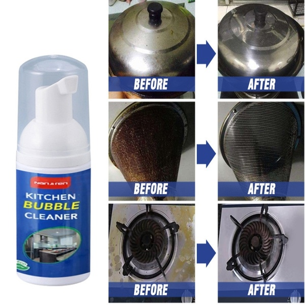 Cleaning Bubble Spray Multi Purpose Foam Kitchen Grease Cleaner Rust Remove Kitchenware Descaling Detergent Bubble Cleaner Buy Online At Best Prices In Pakistan Daraz Pk