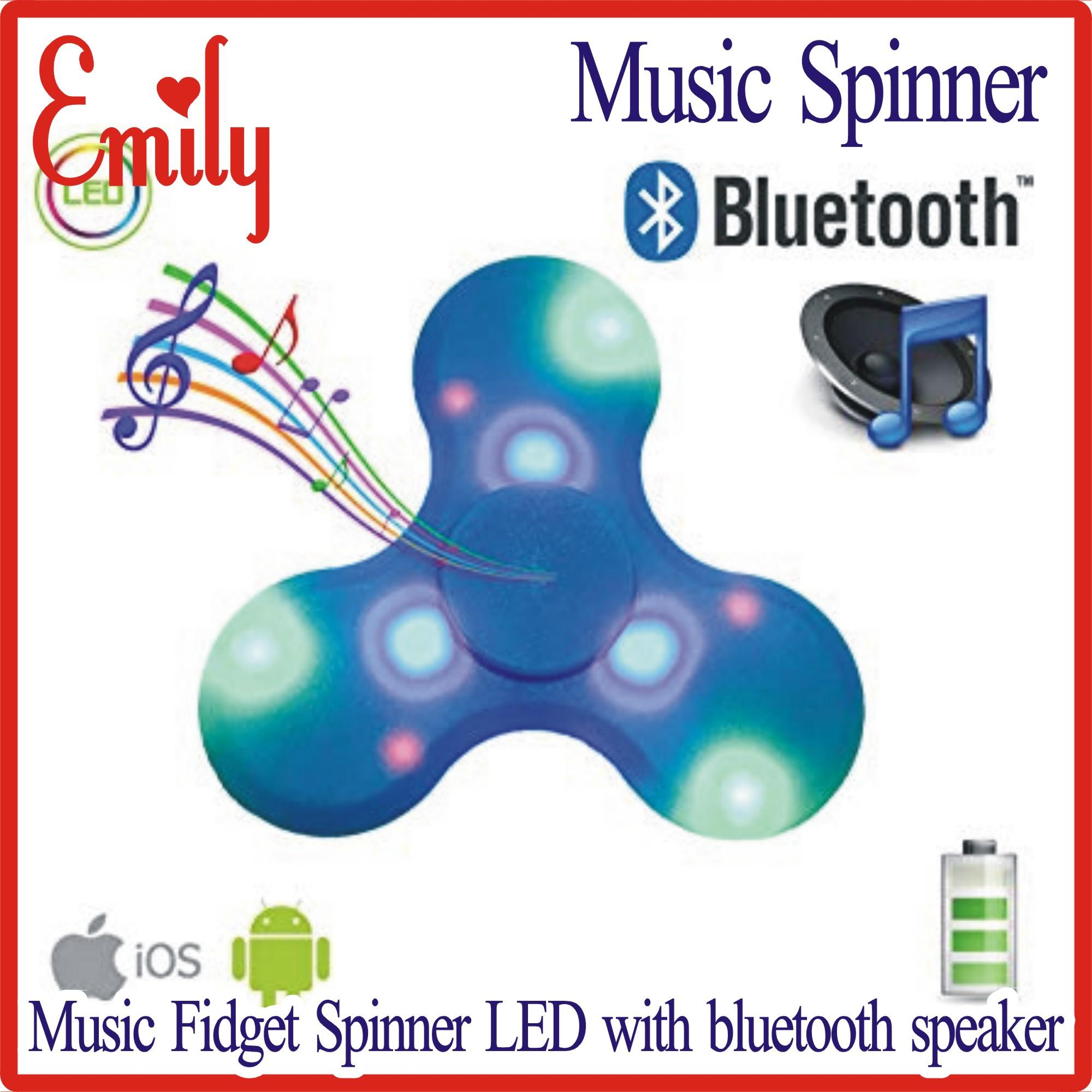 Daraz Special Big Discount Offer       Music Fidget Spinner LED with  built-in bluetooth speaker