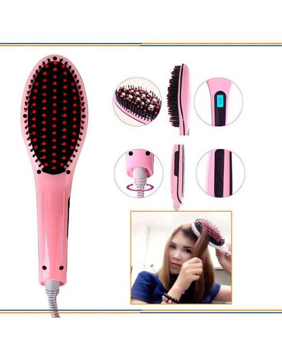 Fast Hair Straightener Natural Hair Styling
